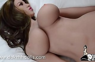 boobs, tits, sexdoll, Giant boob, giant titties, toying