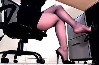 compilated, leggy, lingerie, masturbating, officeporn, pantyhose