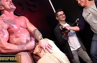 Big Dicks, blonde, tits, giant titties, interracial, spane