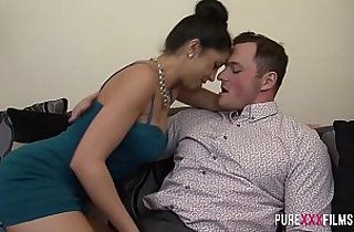 Big Dicks, blowjob, brunette, tits, cuckold sex, cream, cumshots, deep throat