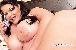 angelic, ass, Big Dicks, blowjob, brunette, tits, cream, cumshots