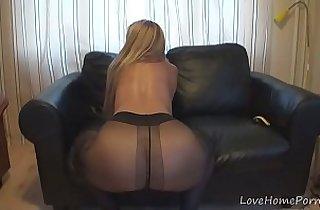 amateur sex, blonde, tits, giant titties, masturbating, pantyhose, solo xxx