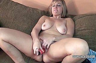 blonde, cougars, curvy girl, dildoing, masturbating, mature asia, MILF porno, toying