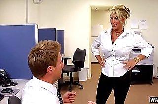 asian babe, blonde, blowjob, boss sex, tits, giant titties, hardcore sex, MILF porno