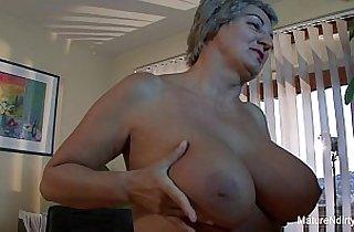 ass, blowjob, tits, cream, cumshots, giant titties, grannies, hardcore sex