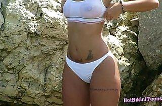 beach, blonde, tits, HD, hiddencamera, hornylesbo, public place, spycam