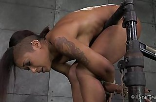 bdsm, black  porn, bondage, ebony sex, HD, nippled, xxx pierced, rope sex
