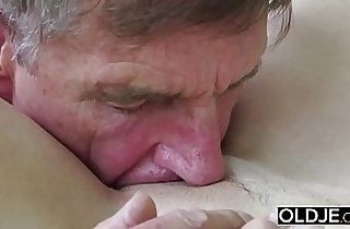 blonde, blowjob, tits, cream, cumshots, deep throat, fingerfucked, grandpa xxx